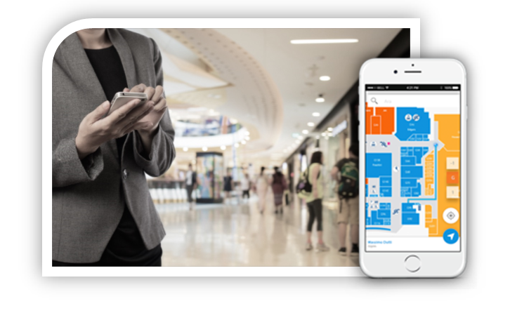 Indoora – Indoor Positioning Systems – Shopping Mall App
